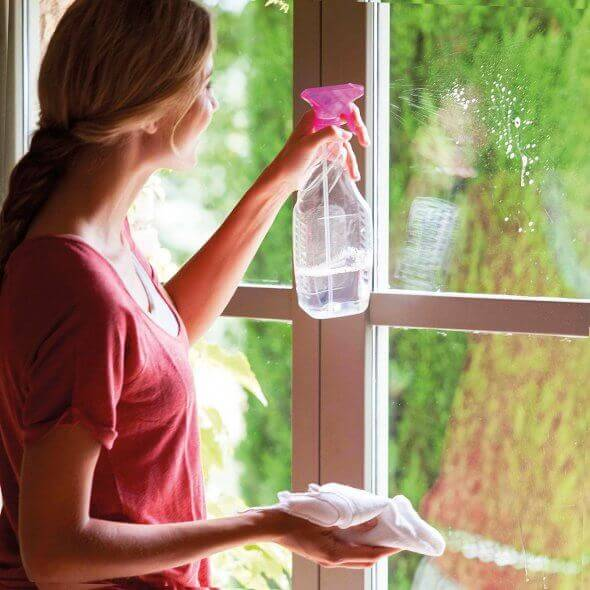 Gran abrillantador de ventanas y cristales