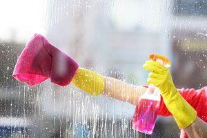 Limpiador casero para vidrios