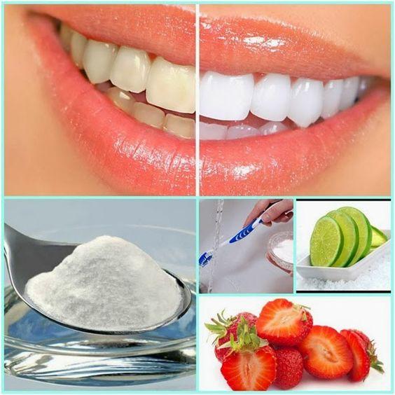 Alimentos que blanquean los dientes