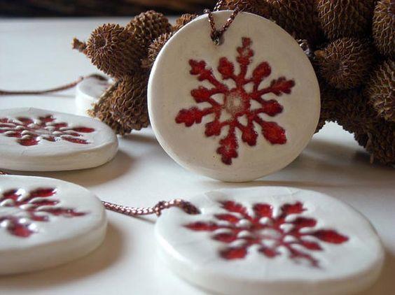 Ornamentos navideños DIY fáciles