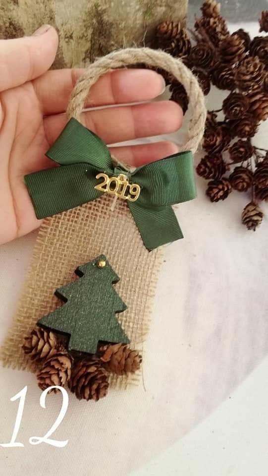 Adornos navideños colgantes