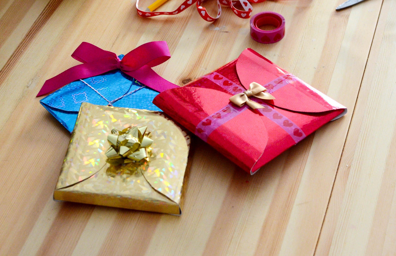 como envolver un regalo de forma espectacular