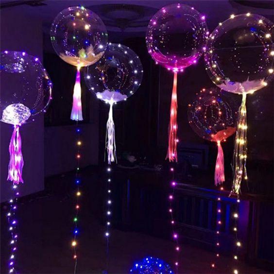 ¿Como hacer globos led?
