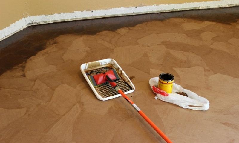 como hacer piso de papel