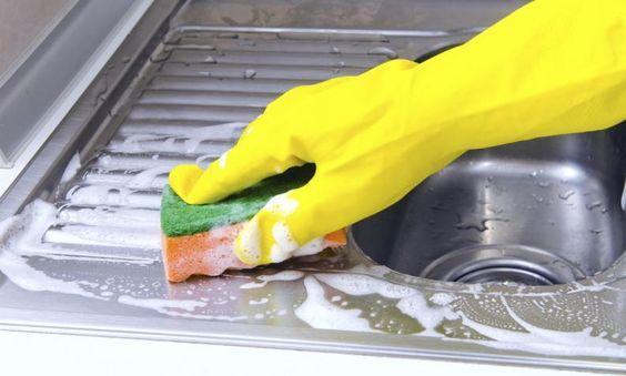 Como limpiar el fregadero