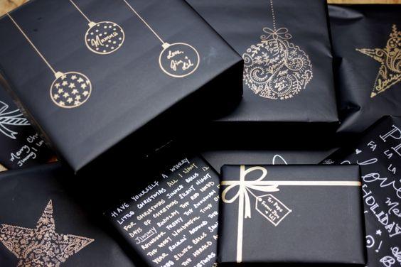 Ideas de envolturas para navidad diy