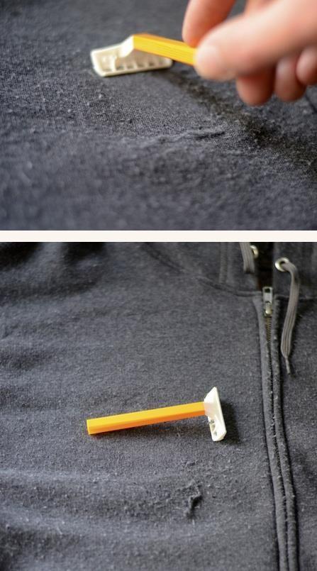 Lista de trucos para arreglar tu ropa
