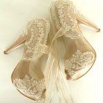 13 Diseños de Zapatillas para Novias