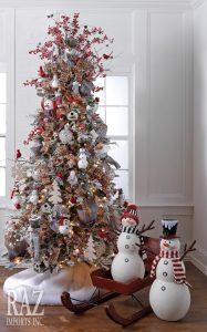 Ideas de decoracion de arboles de navidad 2017 - 2018 (13)