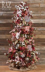 Ideas de decoracion de arboles de navidad 2017 - 2018