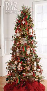 Ideas de decoracion de arboles de navidad 2017 - 2018 (20)