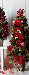 decoracion de arboles de navidad para casas pequeñas