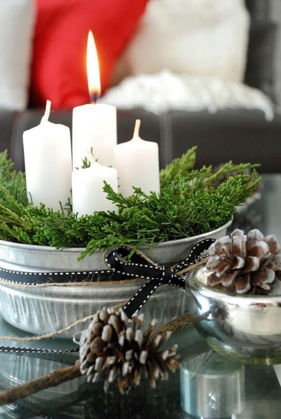 12 Centros de Mesa DIY para esta Navidad (10)