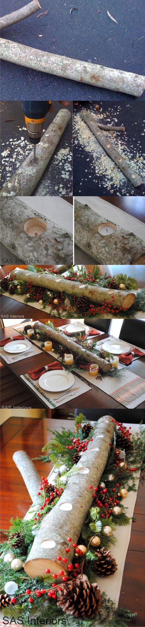 12 Centros de Mesa DIY para esta Navidad (12)