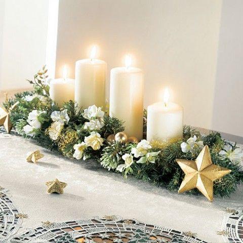 12 Centros de Mesa DIY para esta Navidad (14)