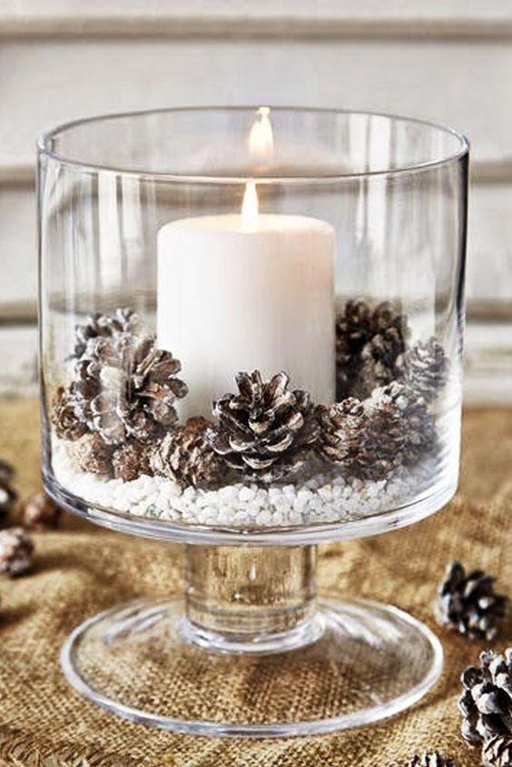 12 Centros de Mesa DIY para esta Navidad (15)
