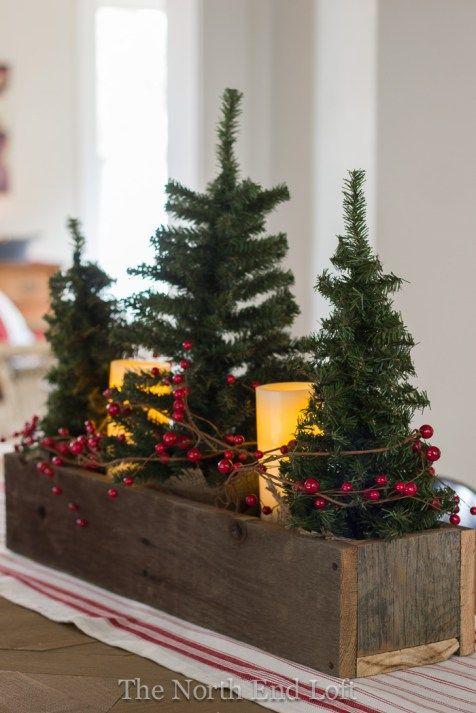 12 Centros de Mesa DIY para esta Navidad (4)