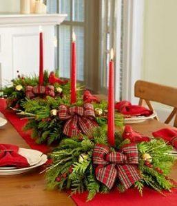 12 Centros de Mesa DIY para esta Navidad (5)