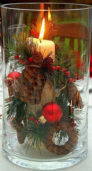 12 Centros de Mesa DIY para esta Navidad (6)