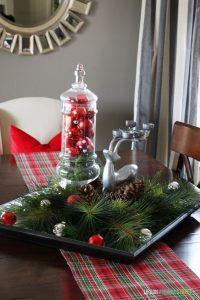 12 Centros de Mesa DIY para esta Navidad (7)