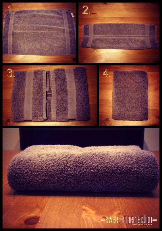 Cómo doblar Sábanas, Mantas y Manteles con el método Konmari (4)