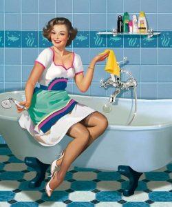 Cómo limpiar el Baño Rápidamente (1)
