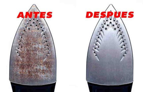 Como Limpiar una Plancha Quemada Truco Facil y Rapido (3)
