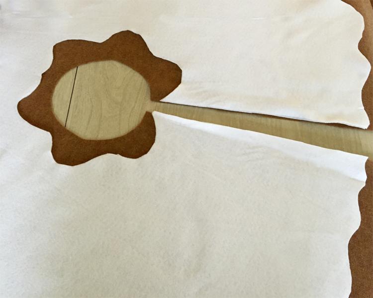 DIY para hacer un Pie de arbol Navideno (6)