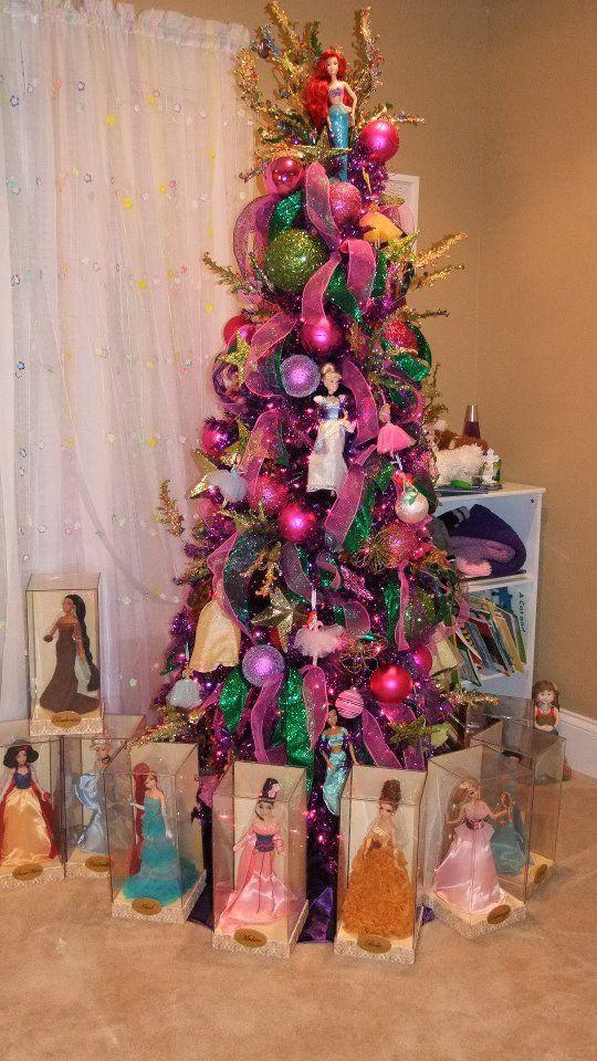 arboles Navidenos con Barbie y temas para Ninas (7)