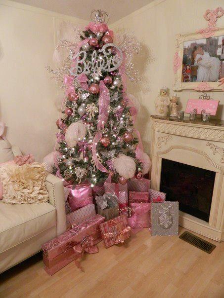 arboles Navidenos con Barbie y temas para Ninas (8)