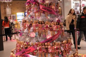 decoracion de arboles de navidad de barbie