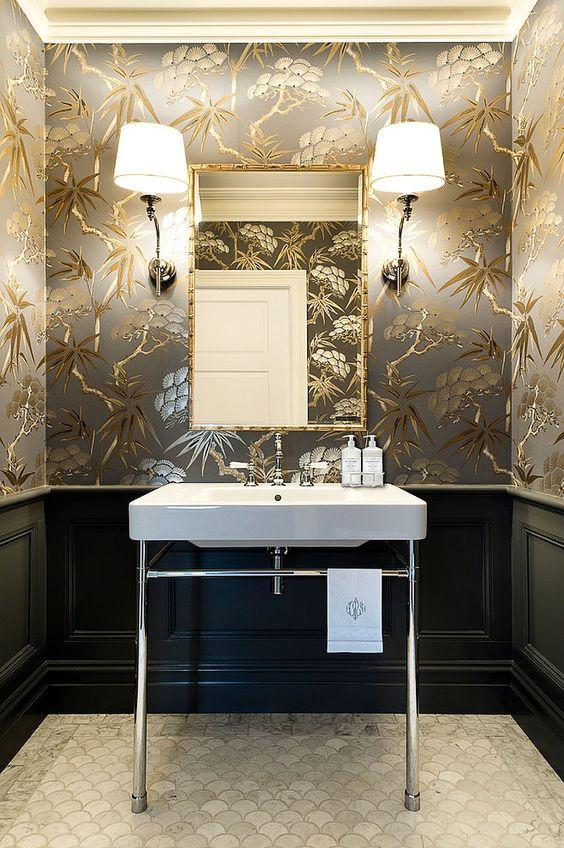 Lamparas para baños de pared