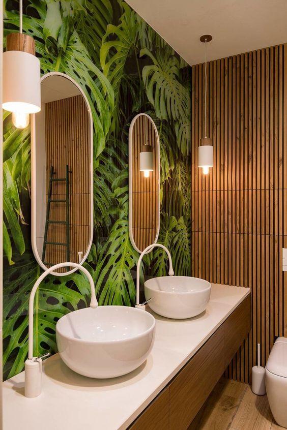 Lamparas para baños modernos