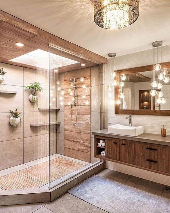 Luces de techo para baño