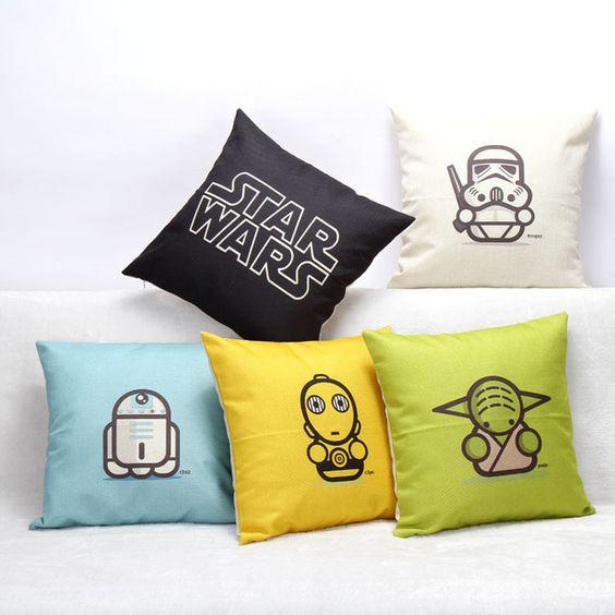 Accesorios decorativos para la decoración geek