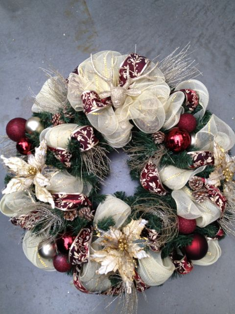 Coronas navideñas para las puertas
