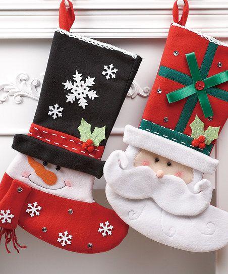 Adornos navideñosen fieltro