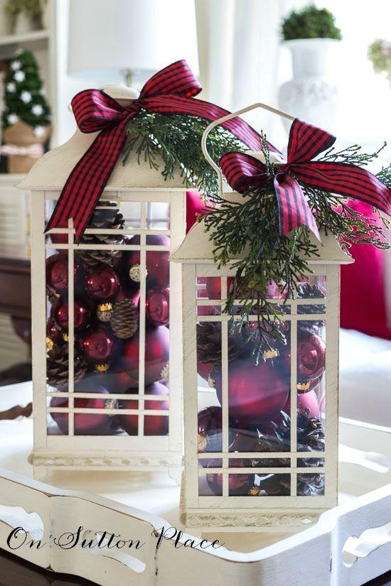 Adornos navideños modernos