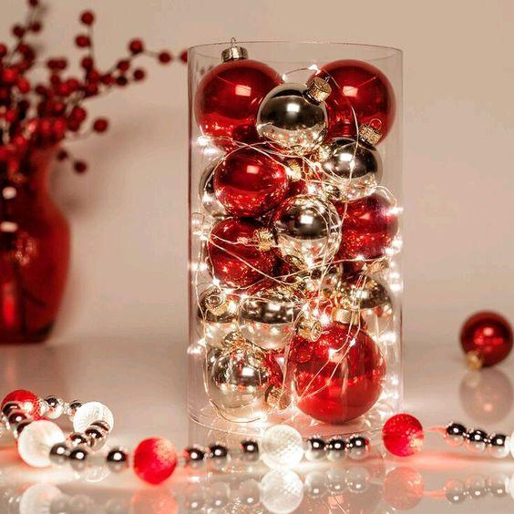 Centros de mesa navideños diy
