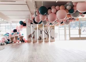 Decoración con globos 2019