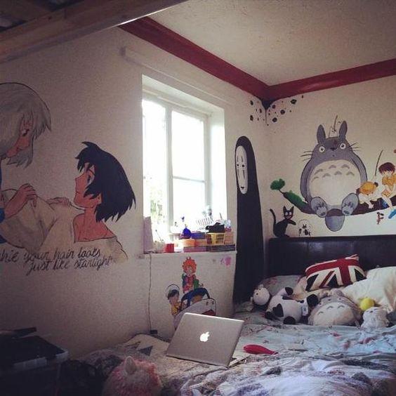 Decoración de habitaciones geek