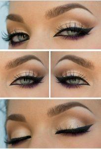 Delineado de ojos estilo cat eye