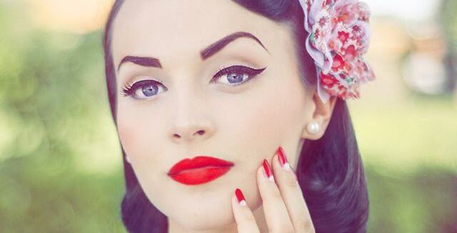 Delineado pin up