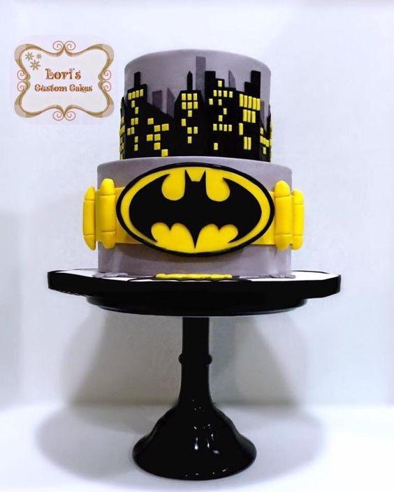Diseños de pasteles para fiesta de batman
