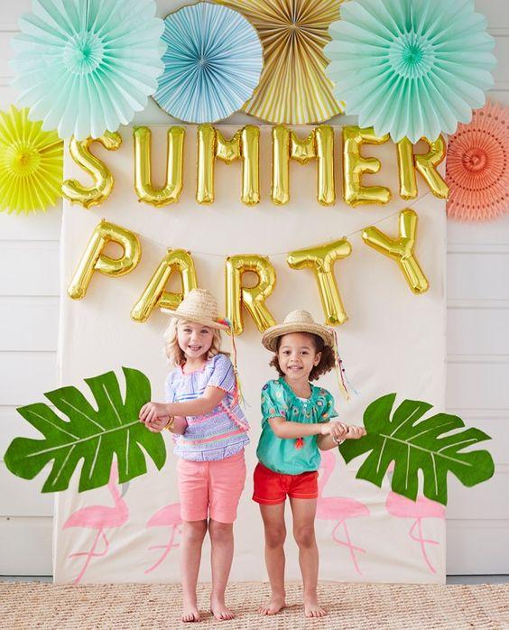Escenarios de fotos para fiestas infantiles