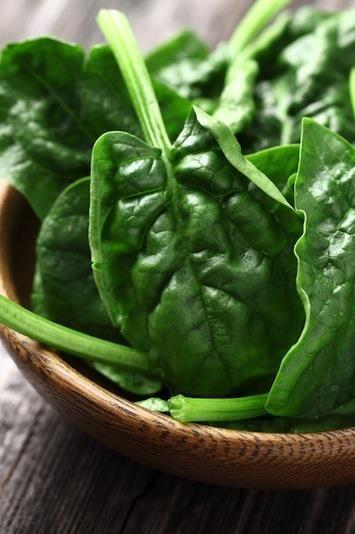 espinacas dieta cetiogenica