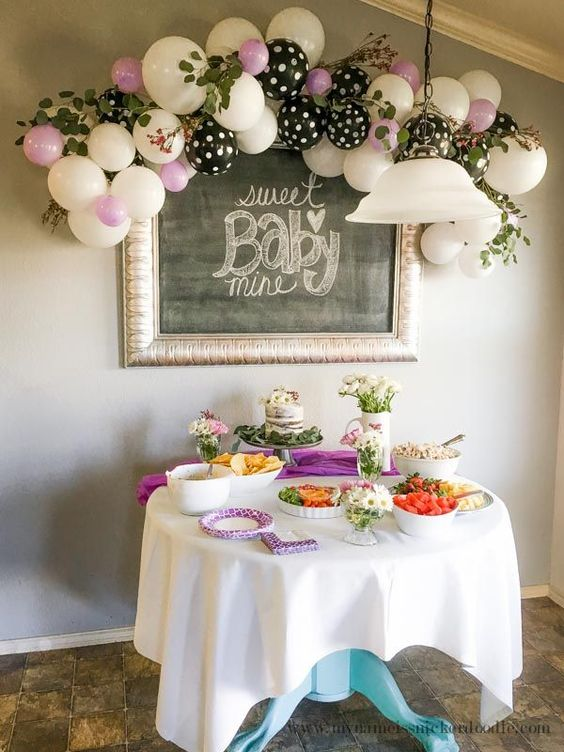 Ideas para baby shower de niña