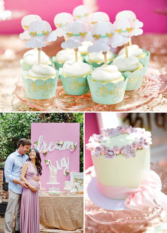 Ideas baby shower de niña