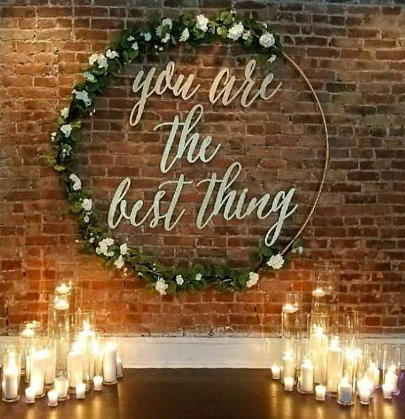 Ideas para decorar una boda