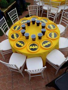 Ideas para decorar una fiesta de batman